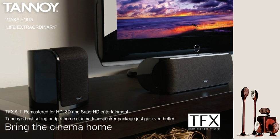 Tannoy Home theater